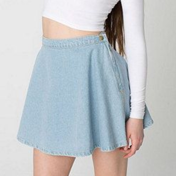 American Apparel Dresses & Skirts - American Apparel Denim Circle Skirt Size Small